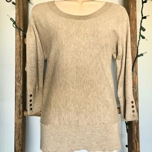 Loft Oatmeal Sweater - FREE w/bundle $25 & up